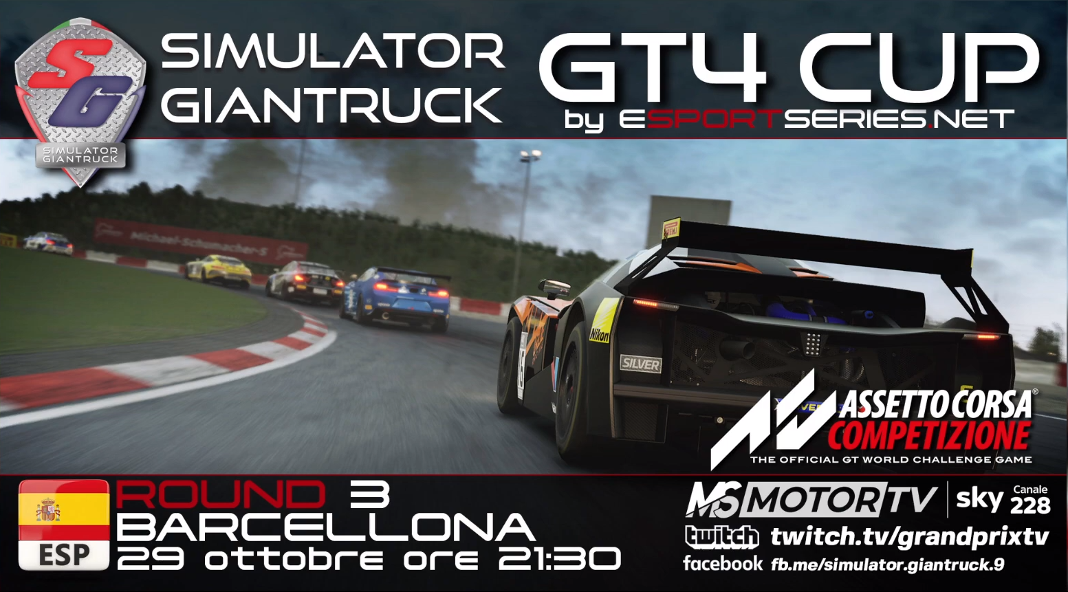 Giantruck GT4: Racing oN3 sempre al top